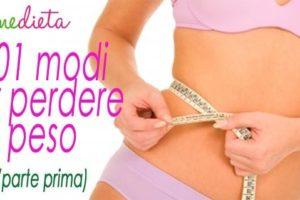 101 modi per perdere peso/LA DIETA