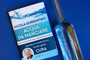 Acqua da mangiare, la nuova dieta del dr Sorrentino: perdi 5 chili al mese