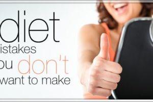 Perdi peso senza questi errori