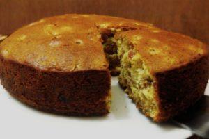La torta dietetica per colazione