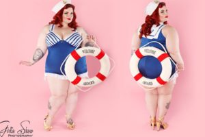Criticata Tess Holliday, la modella curvy