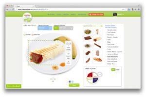 MakeMyPlate, la nuova app per dieta
