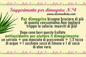 perdere peso con prezzemolo e limone