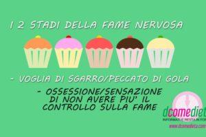 Fame nervosa e dieta: il ciclo perverso