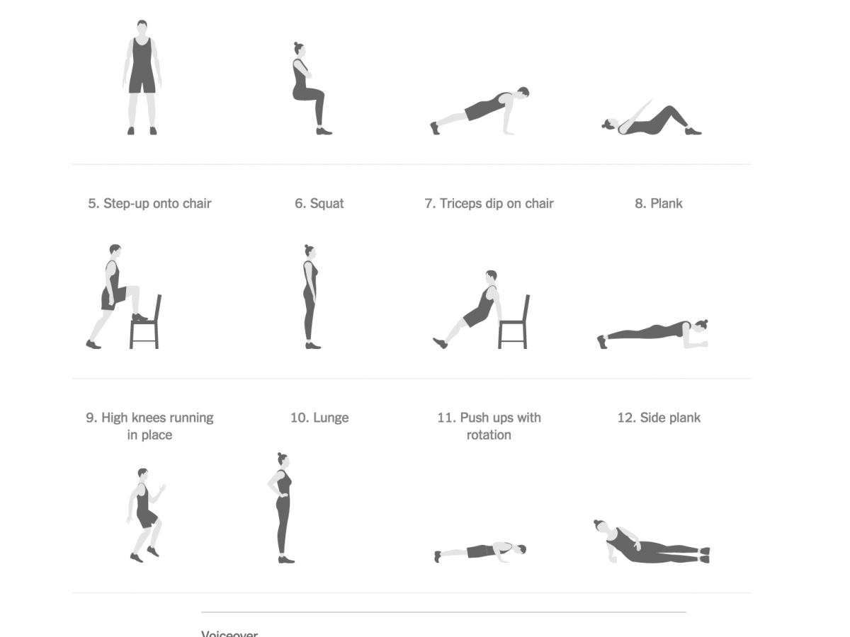 perdere peso allenamento 7 minuti