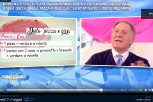 La dieta della pizza del dottor Sorrentino