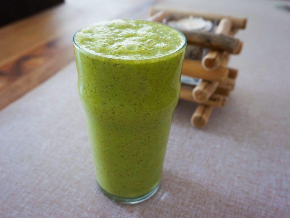 frullato verde per perdere peso velocemente