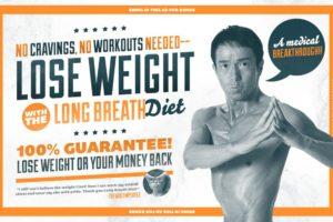 La dieta del respiro per dimagrire: long breath diet