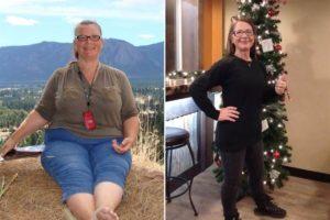 Una donna riesce a perdere 50 kg con questo metodo