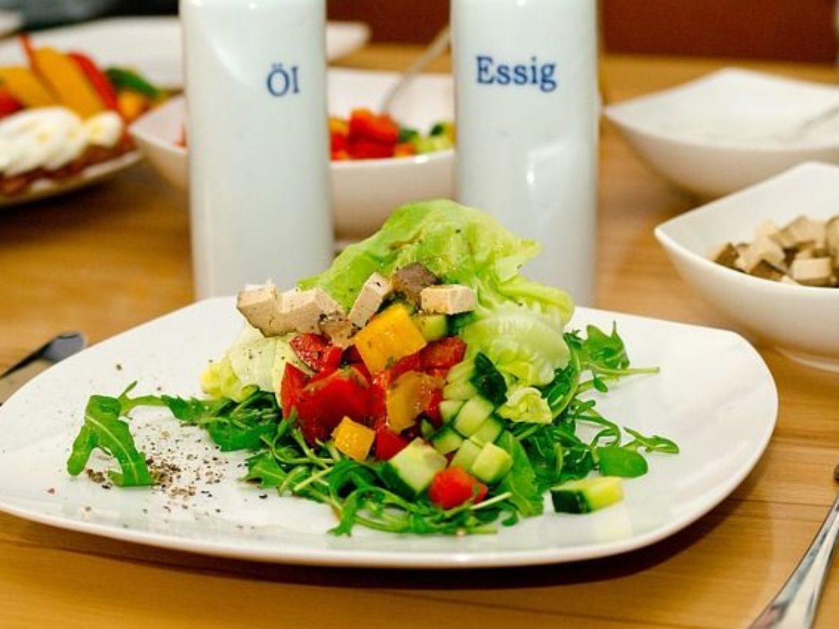 insalate dietetiche per la notte