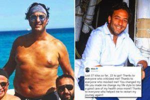 Il calciatore Mido perde 50 kg in un anno così