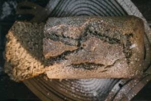 Pane senza carboidrati al burro d'arachidi