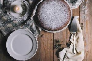 Pan di Spagna senza glutine alle castagne: 150 calorie a porzione