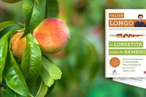 Il nuovo libro del dr Valter Longo: longevi dall'infanzia