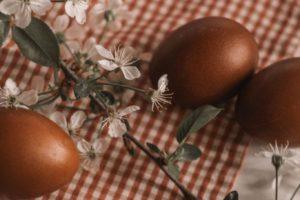 La dieta dopo le feste di Pasqua con uova e colomba