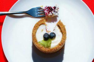 Cheesecake monoporzione light: 250 calorie