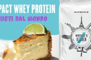 Gusti dal mondo: l'edizione limitata delle Whey di My Protein
