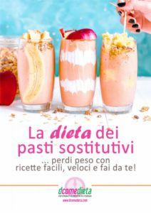 Dieta dei pasti sostitutivi: il libro